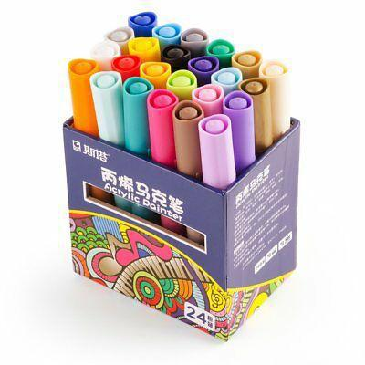 sta-acrylic-paint-graffiti-marker-watercolor-pens-24-colors-great-for-begginer