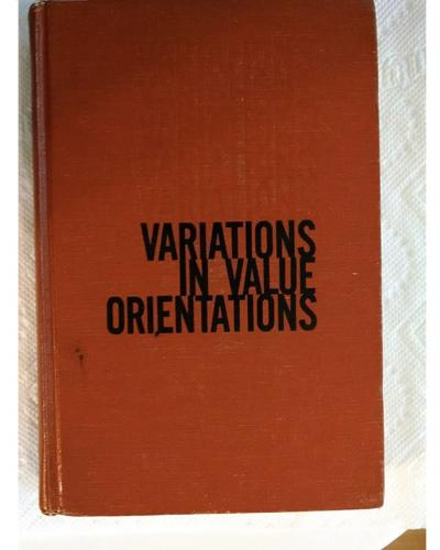 variations-in-value-orientations-florence-rockwood-kluckhohn-books
